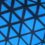 Black Blue Triangle
