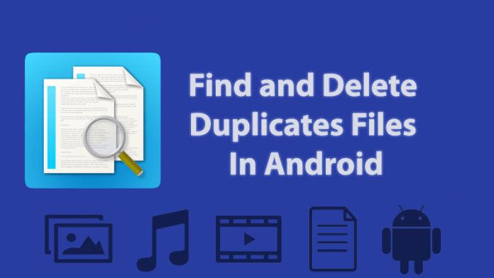 duplicate files remove app