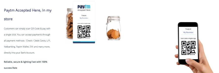 paytm qr code service offline 50k