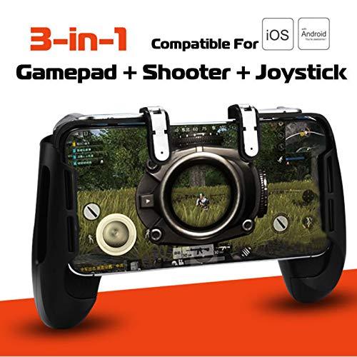 Litake Mobile Game Gamepad Joystick Controller Trigger Fire Button for PUBG FORTNITE