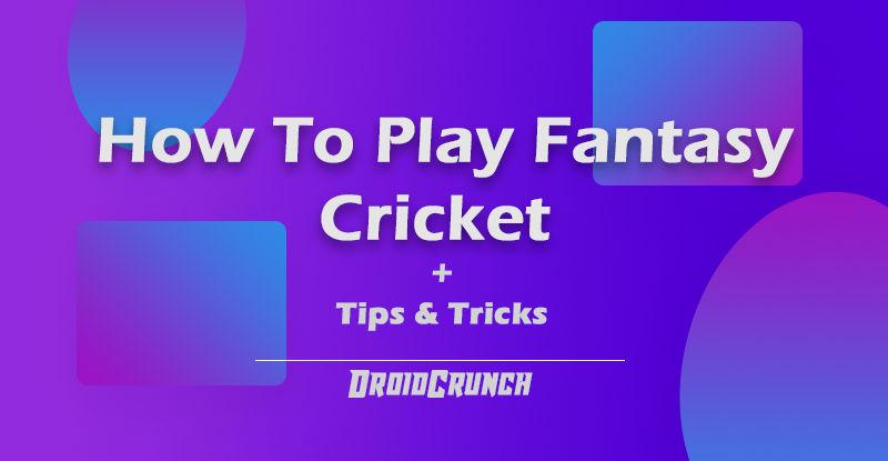 How to Play Dream 11 Fantasy Cricket Tips & Tricks