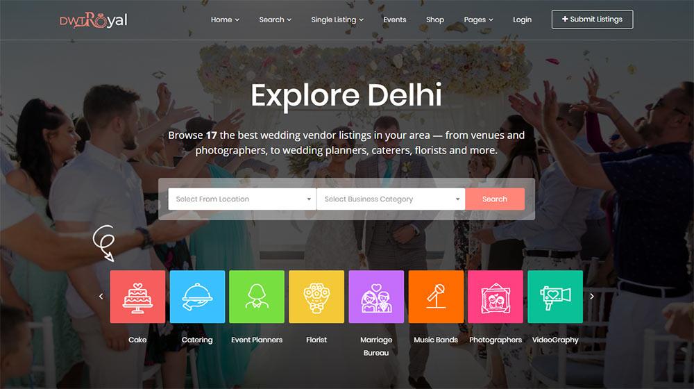DWT Directory Listing Theme for WordPress