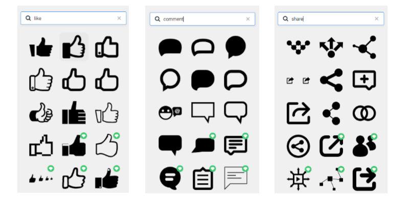 DesignCap Icons library