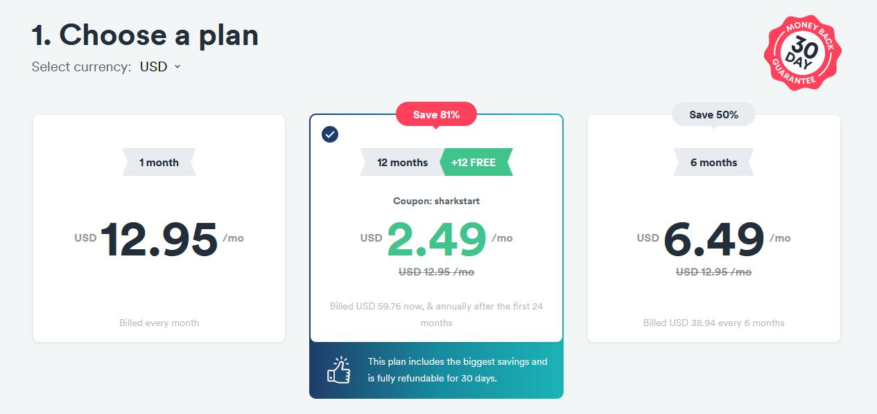 Surfshark VPN Pricing & Features