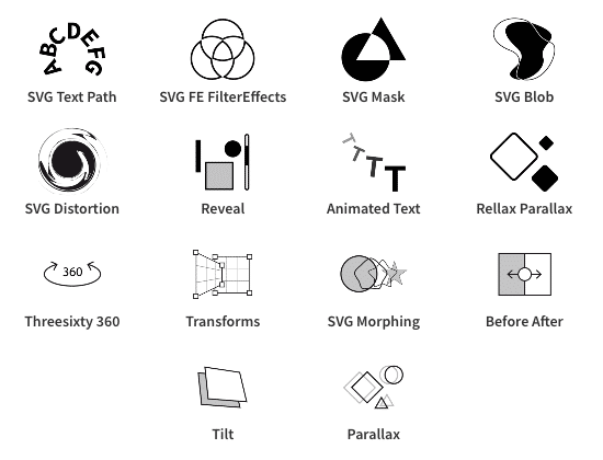 Creative Widgets by Dynamic.ooo