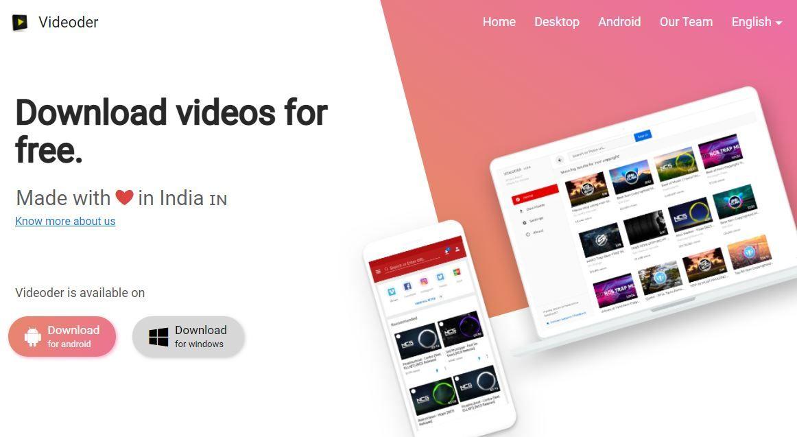 Videoder YouTube Videos Downloader for Free