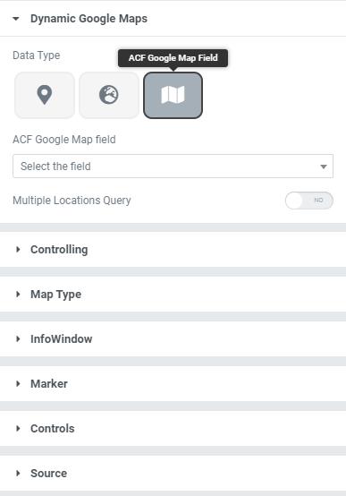 ACF Dynamic Google Maps