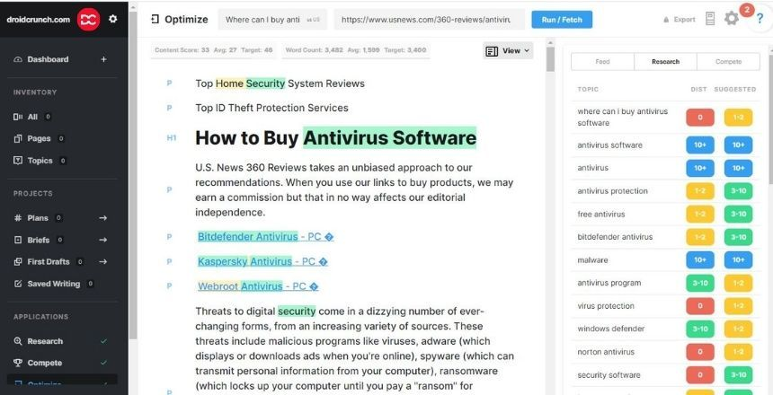 Best Marketmuse Alternatives and Competitors