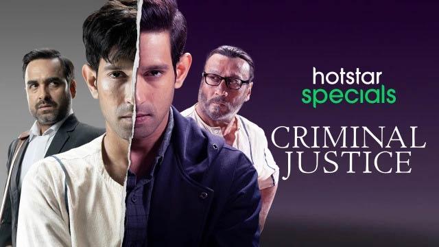 Criminal Justice Disney Hotstar Series