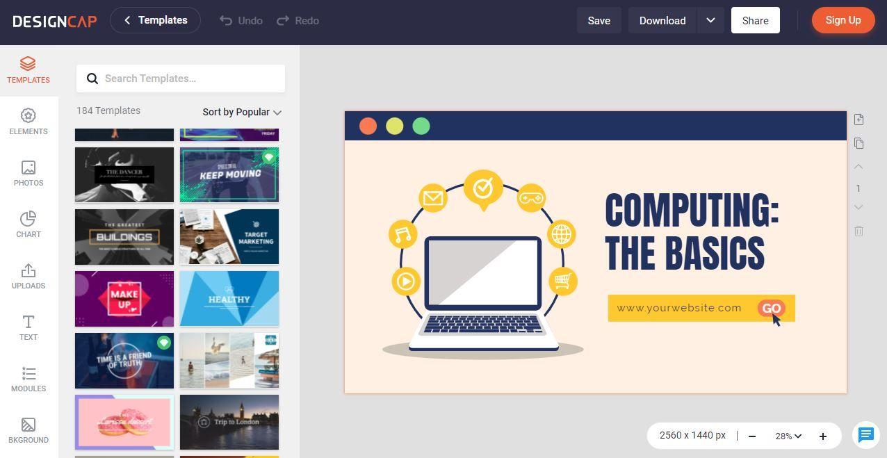 DesignCap Designing Software