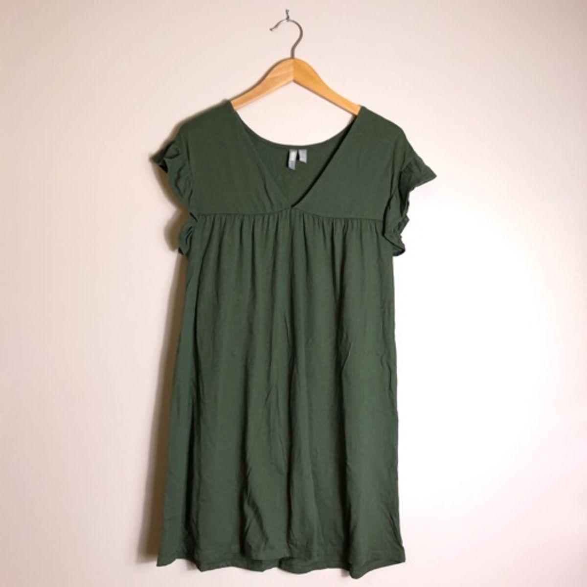 ASOS Reversable Olive Mini Dress_2