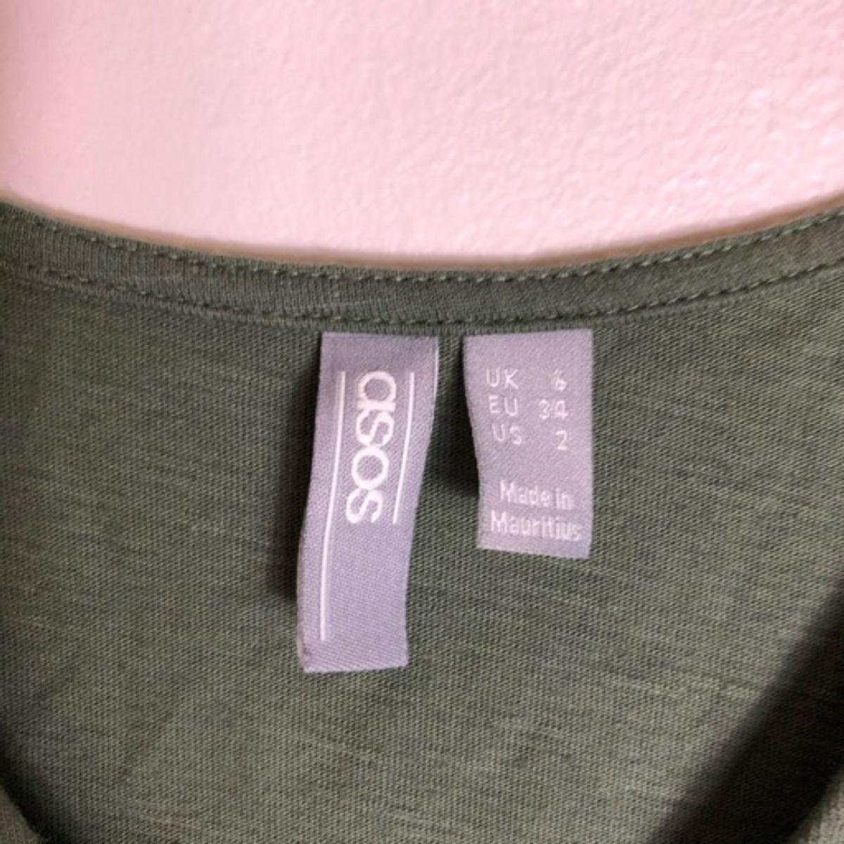 ASOS Reversable Olive Mini Dress_4