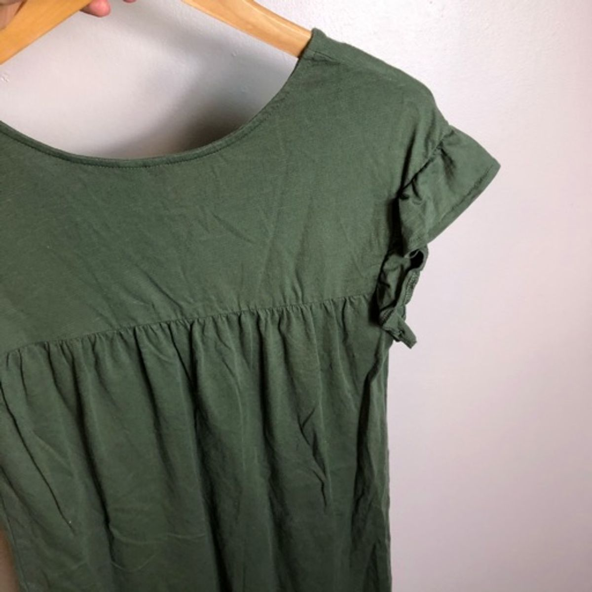 ASOS Reversable Olive Mini Dress_5