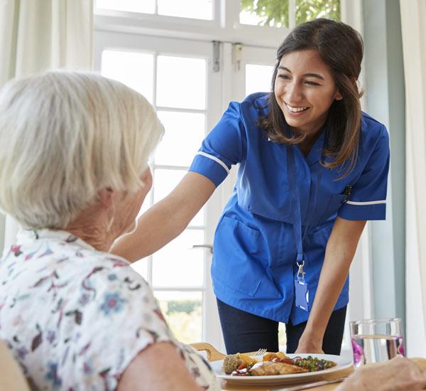 assisted living nurse staffing