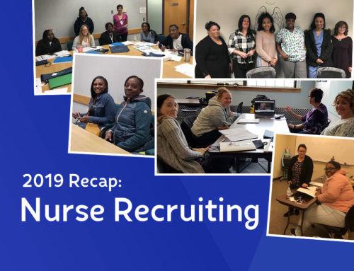 2019 Nurse Recruiting Recap [Winter/Spring 2020 Newsletter]
