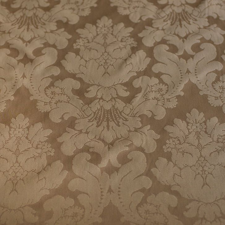 Taupe French Damask