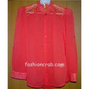 Carmine Red Top