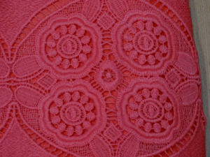 Crochet Carmine Pink Top for Women