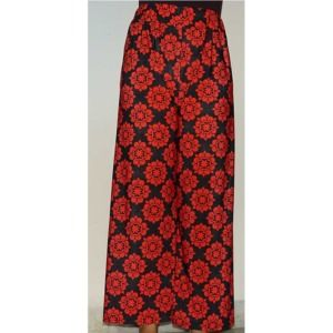 Black and Red Women Palazzo