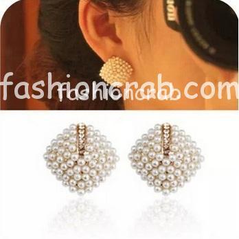 Pearl Stud Earrings for Women