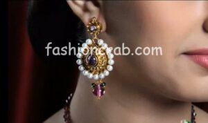 Mutilcolor Antique Necklace Set