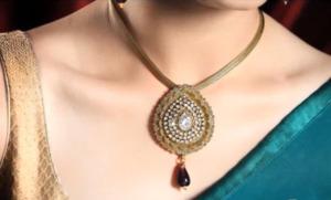 Golden Color Necklace Set