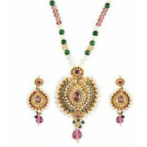 Mutilcolor Antique Necklace Set