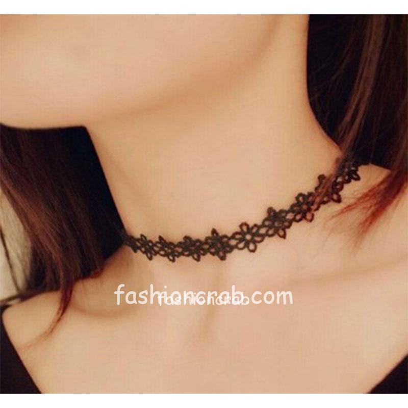 Black-Vintage-Lace-Choker-Necklace-for-Girls