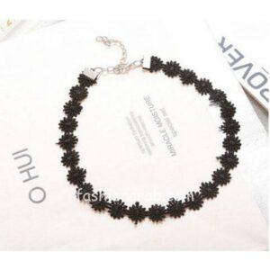 Girls-Black-Velvet-Lace-Choker-Necklace