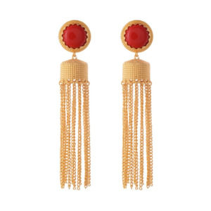 Red Color Designer Dangler for Girls