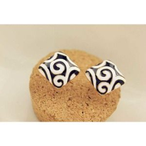 Zebra Pattern Earrings for Women