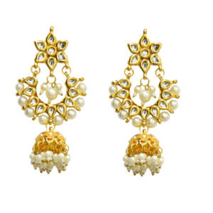 Kundan Jhumka Drop Earring for Girls