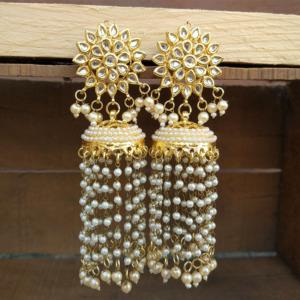Long Jhallar Women Earring