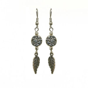 Silver Color Drop Earring
