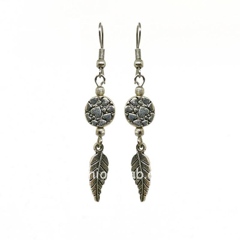 Silver Color Drop Earring