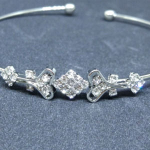 Stunning Silver Color Women Bracelet