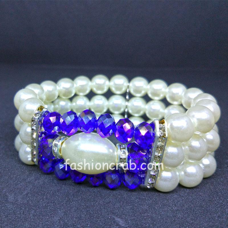 Three Strand Pearl Bracelet