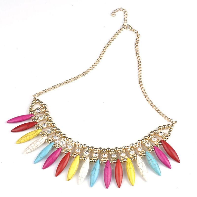 Multicolor Statement Necklace for Women