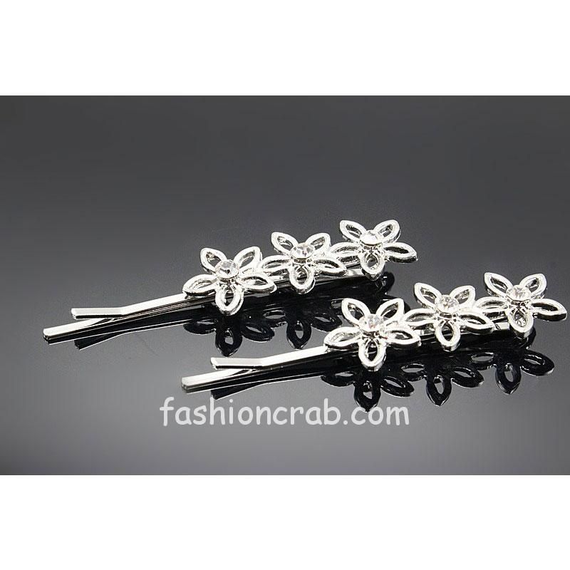 Flower Shape Hair Pin for Women