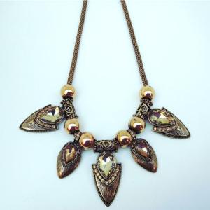 Golden Boho Necklace for Women