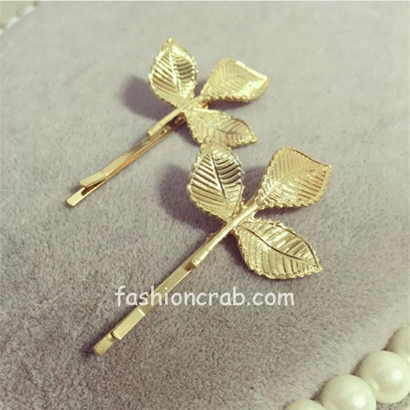 Three Leaf Vintage Hair Pin