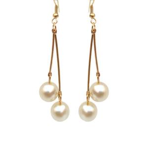 Dangling Pearl Drop Earring