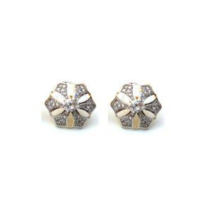 Fancy American Diamond Stud Earring