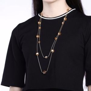 Hot Austria Crystal Double Layer Necklace