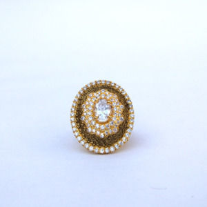 Vintage Dome Shape Ladies Ring