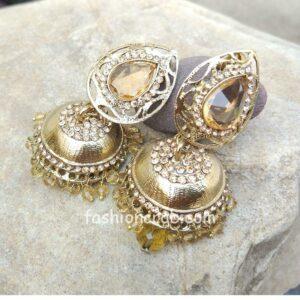 Golden Color Jhumka for Women