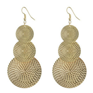 Golden Layer Drop Earring for Women