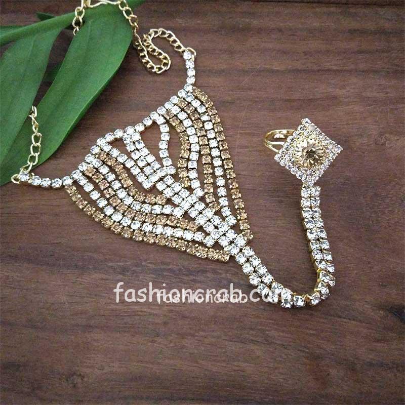 Designer Hand Harness Women Bracelet