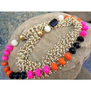 Multicolor Small Pearl Mala