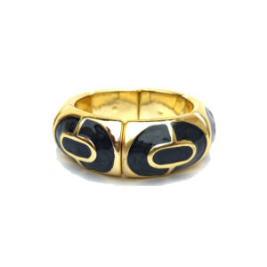 Black Color Golden Women Bracelet